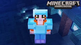 Minecraft: Pocket Edition - Getting Lucky - No Home Challenge