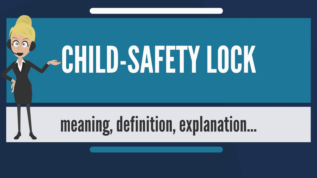 Volvo S60: Child safety locks