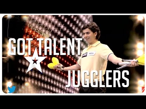 The best jugglers on Got Talent.. but why is Simon not impressed?