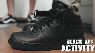 Black Air Force 1 Activity (Skit)
