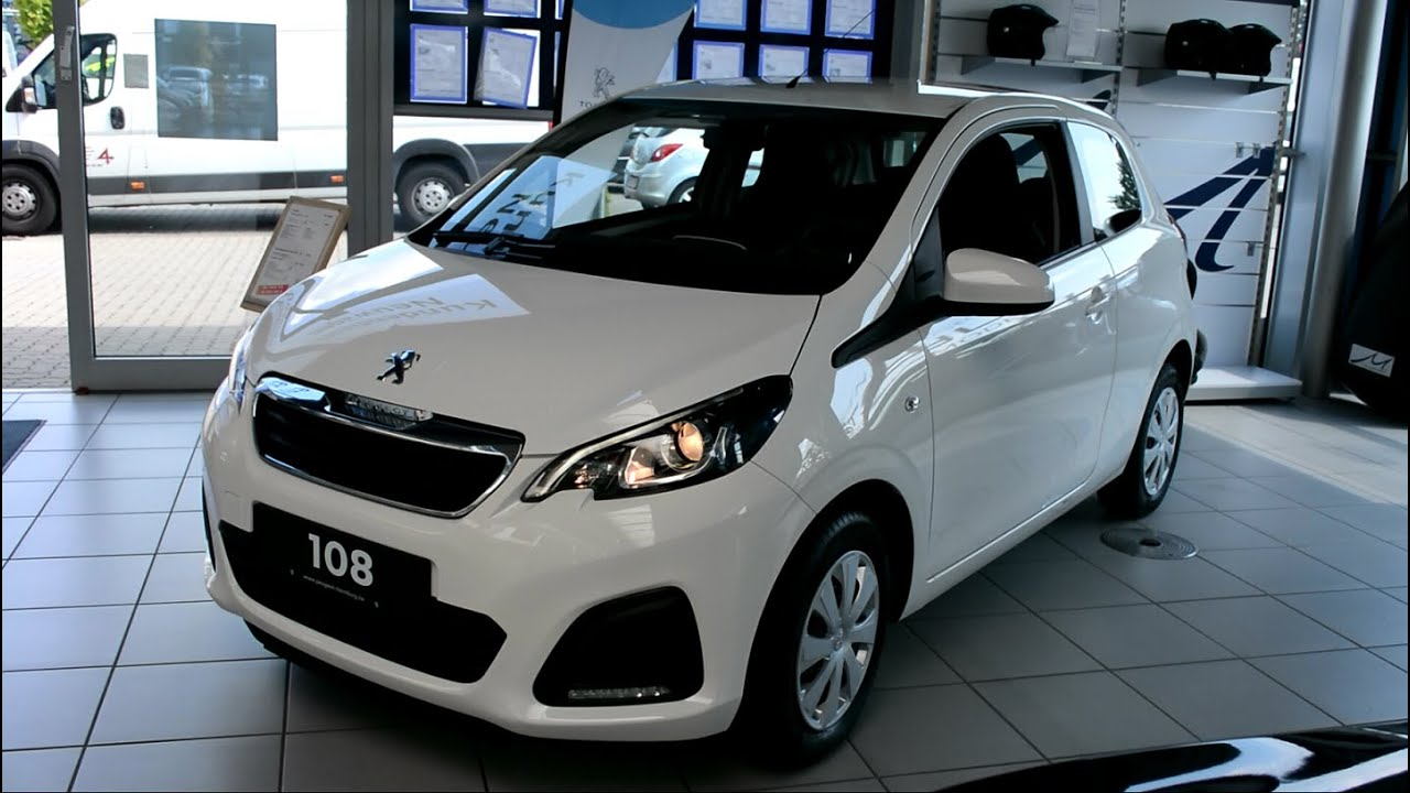 2015 New Peugeot 108 Interior And Exterior Youtube