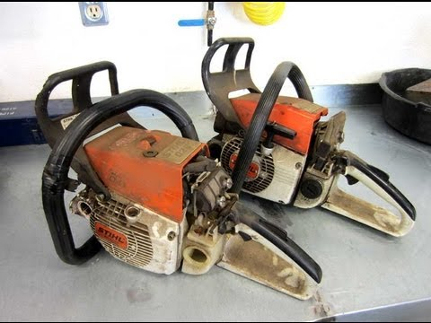 Local Clifieds Find Two Stihl Chainsaws For Parts