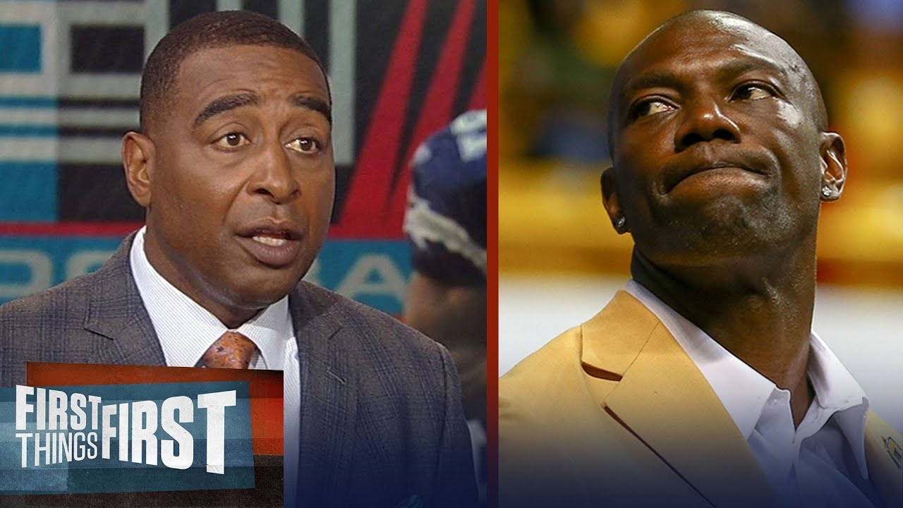 Cris Carter Reacts To T O S Hall Of Fame Speech Nfl First Things First Youtube