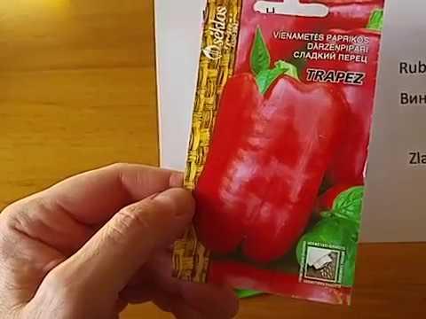 Paprikų auginimas. Geriausios paprikų veislės.