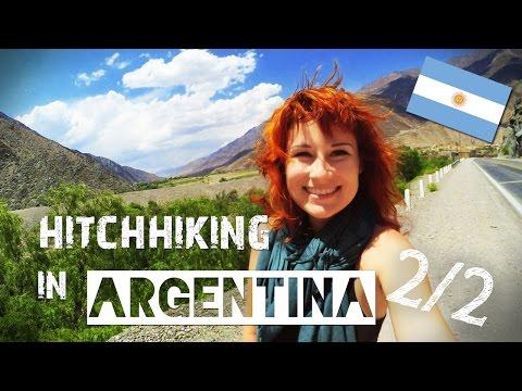 Hitchhiking in ARGENTINA 2/2 | ZuzArt