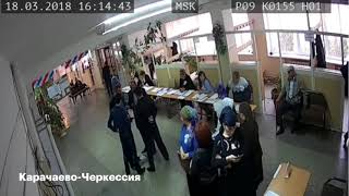 Вбросы на выборах президента 2018 по всей России
