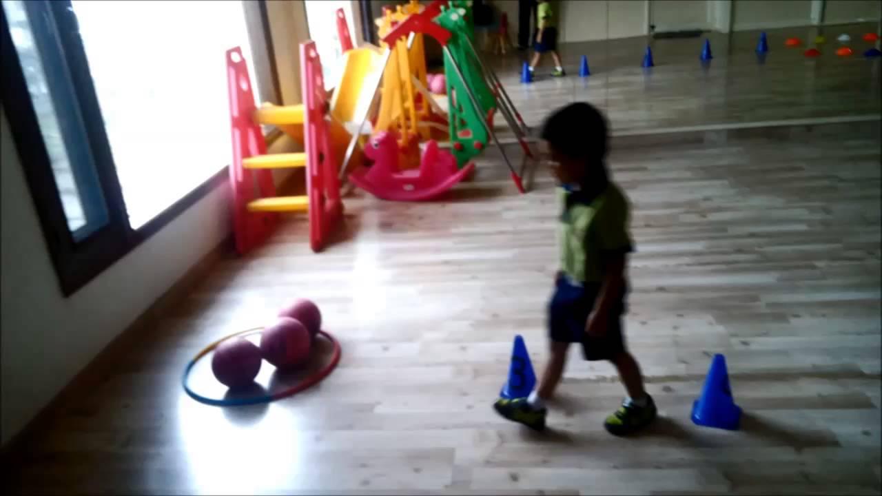 Nursery Kids Doing Gross Motor Activity Youtube
