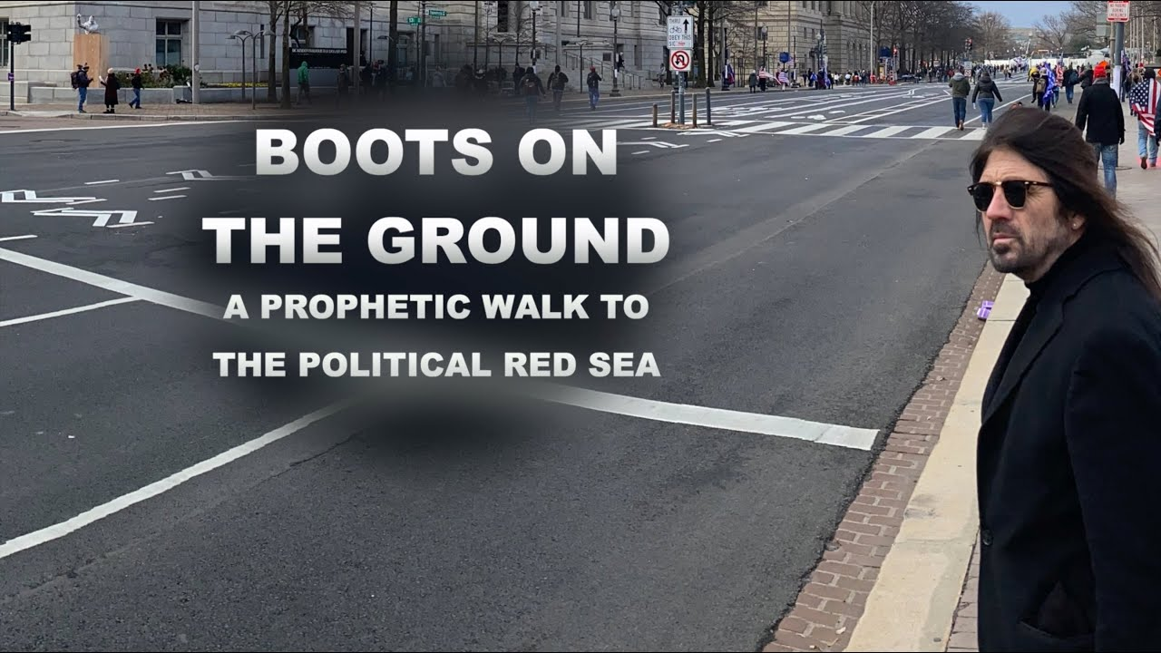 Boots on the Ground: A Prophetic Walk to the Political Red Sea