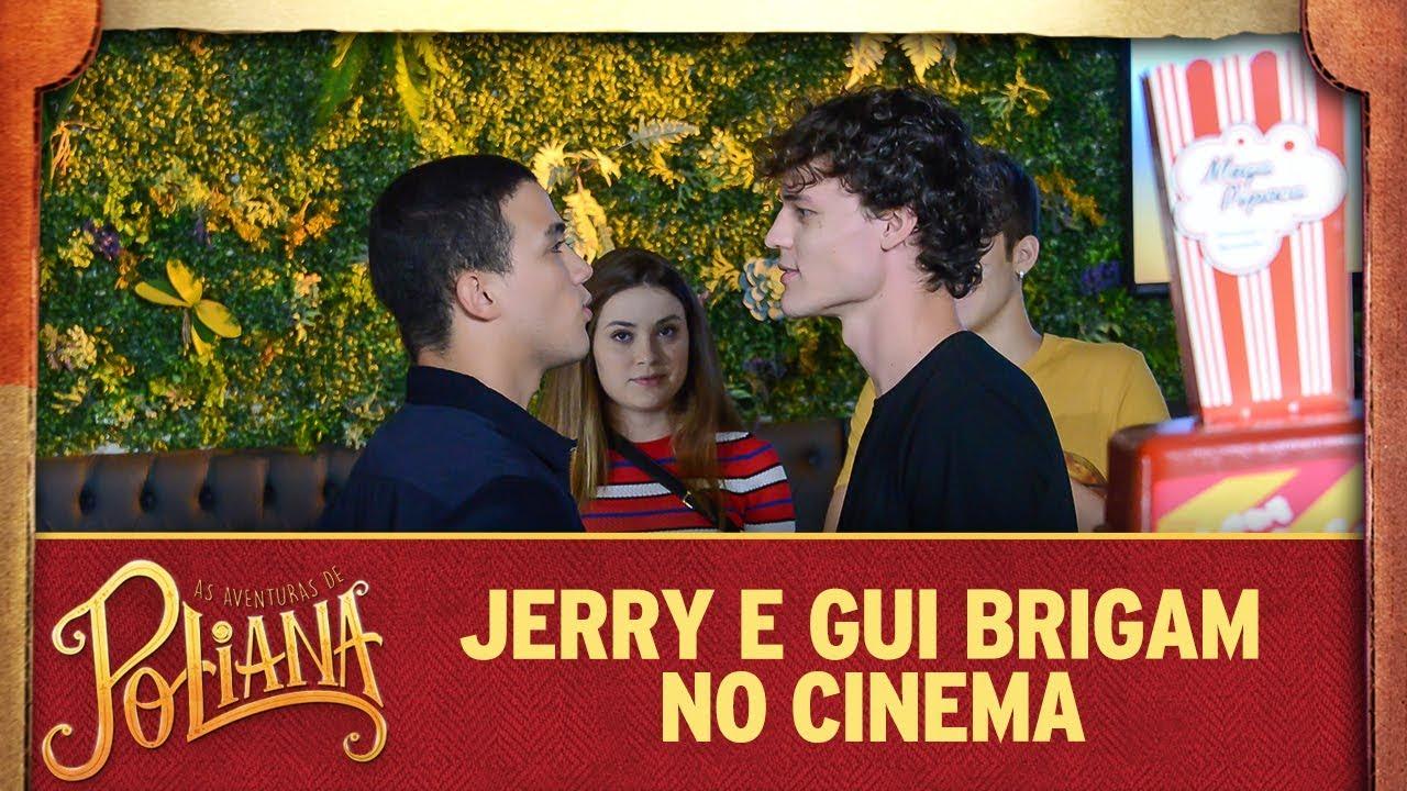 Jerry e Gui brigam no cinema | As Aventuras de Poliana