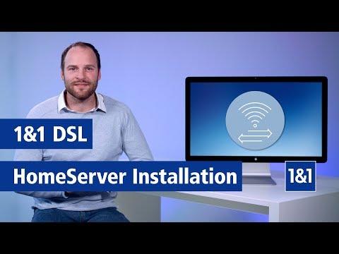 1&1 DSL: 1&1 HomeServer Installation