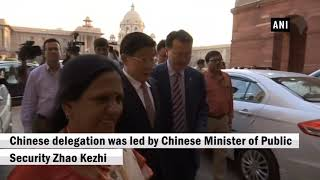 HM Rajnath Singh attends 1st India-China high-level meeting on security cooperation
