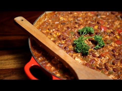 Vegetarian Chilli | Easy To Make Vegan Recipe | Divine Taste With Anushruti