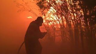 B.C. man volunteers to fight wildfire in hometown