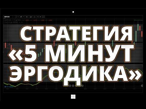 Стратегия Бинарных Опционов 5 минут Эргодика
