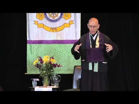 Bayard & John Cobb Peace Lecture 2013 with Claude Anshin Thomas