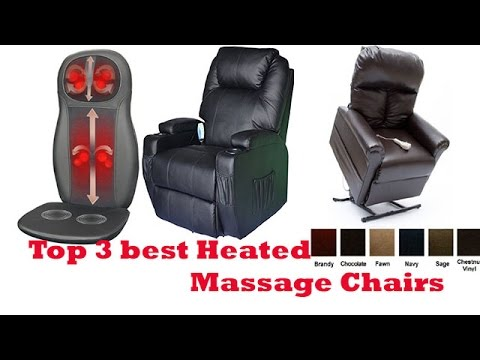 The Top 3 Best Heated Massage Chairs To Buy 2017 | Heated Massage Chairs  Reviews