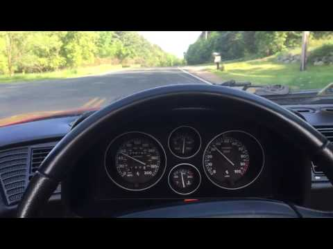 What a Ferrari F355 Spider sounds like to drive point of view