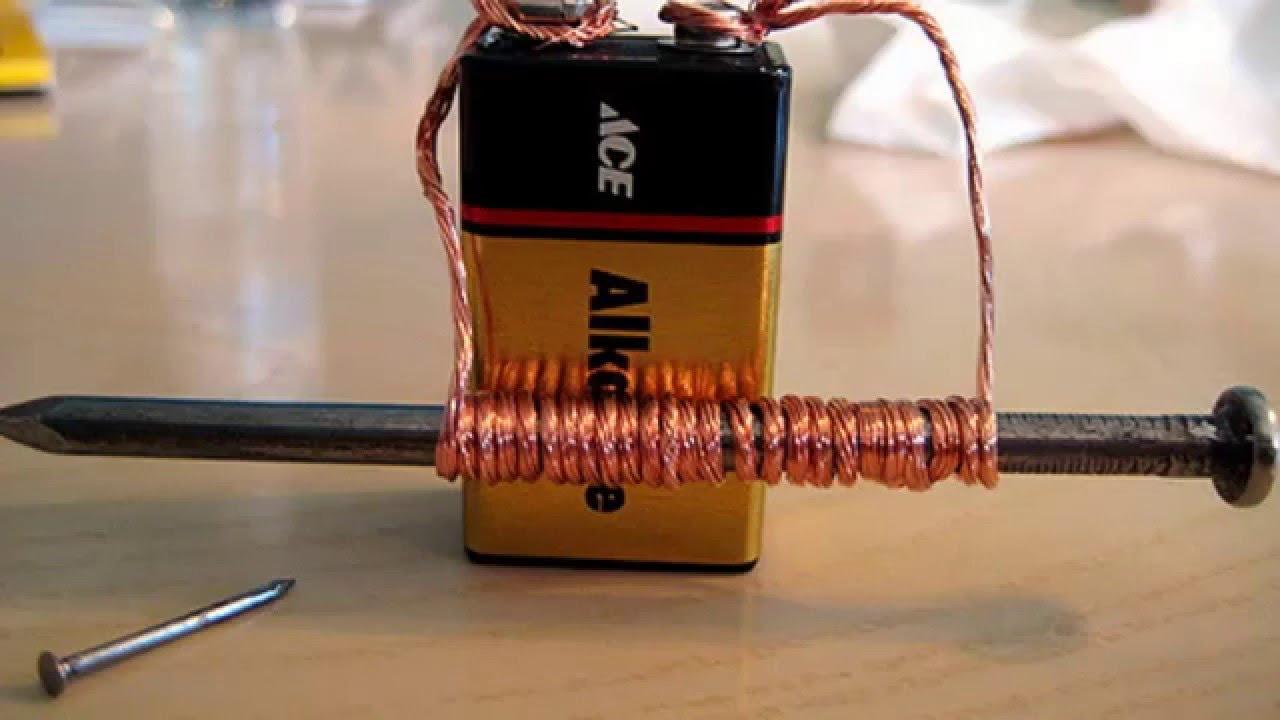 Como hacer un electroiman fisica casero youtube - Como hacer un toldo casero ...
