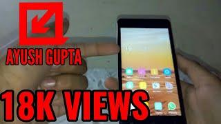 Gionee p5w Quick Review in Hindi Ayush Gupta