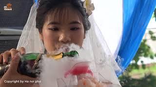 Cô dâu khóc dọc đường khi tiễn nhà gái ra về tại đám cưới quê | Hà Nội Phố