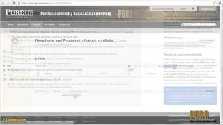 The Purdue University Research Repository (PURR) Project and Publication Tutorial