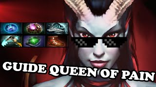 Dota 2 Reborn Guide - Queen of Pain QOP ( Дота 2 гайд на Акашу ) connected