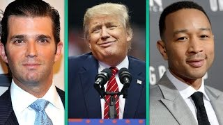john legend sparks heated twitter war with donald trump jr after 39 racist 39 comment