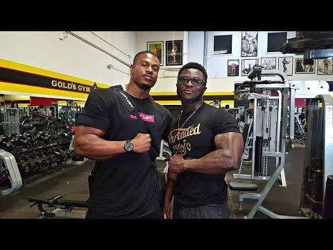 Insane Chest Workout At The Mecca Gold's Gym Venice