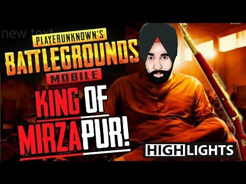 MIRZAPUR Ke King Kaleen Bhaiya PUBG Ke King Preet Bhaiya || PUBG Mobile Highlights