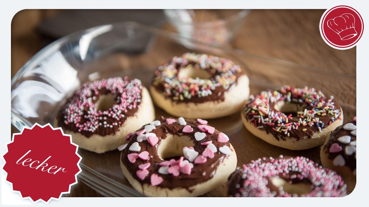 Donuts Zum Valentinstag Aus Dem Thermomix | Elegant Kochen.de