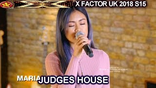 Maria Laroco sings California Dreamin' the Girls | Judges House X Factor UK 2018