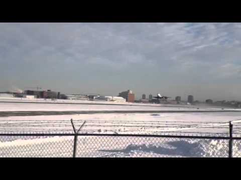 Historic 737 flight from Edmonton City Centre Airport