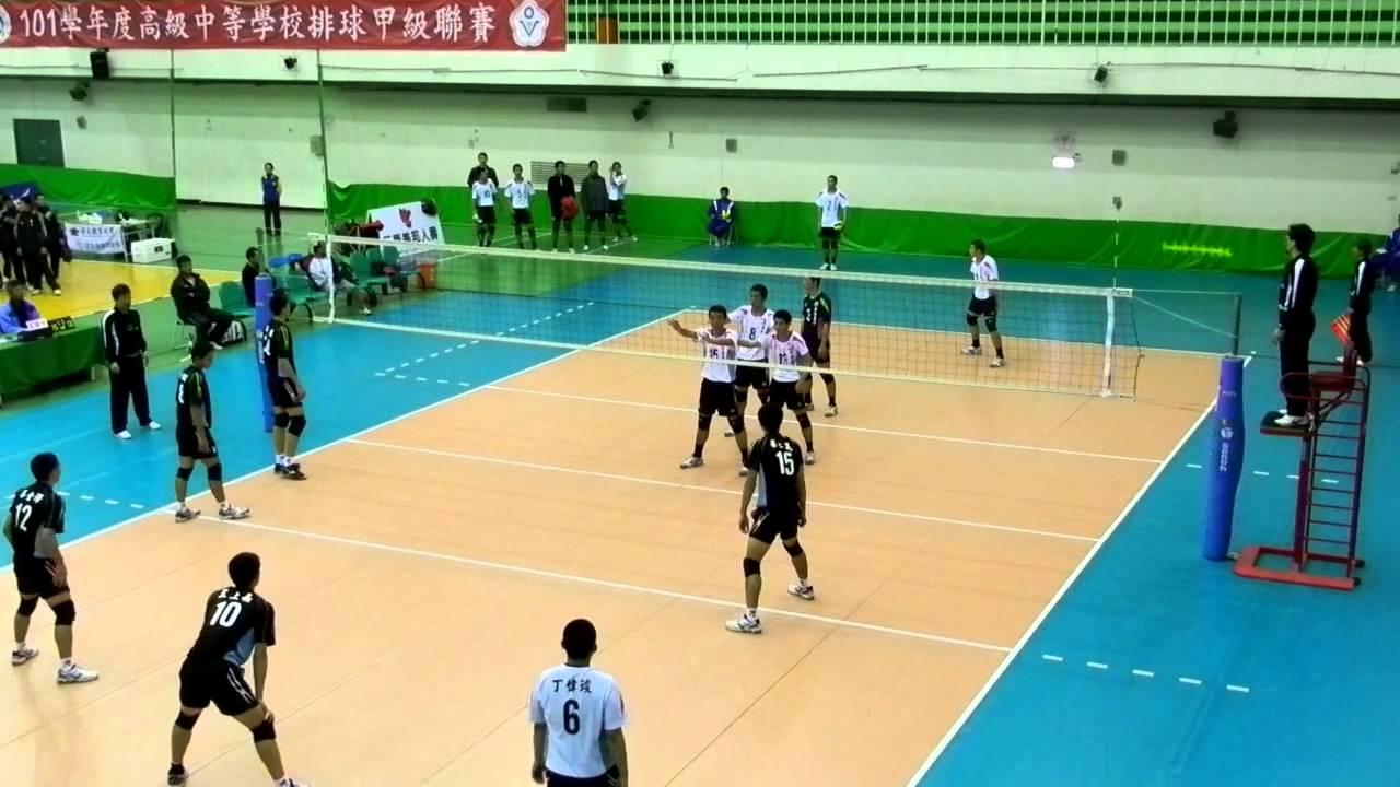 130104 HVL複賽 大成商工vs華僑高中 後半 - YouTube