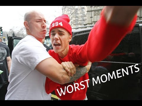 Justin Bieber Angry Worst Paparazzi Moments