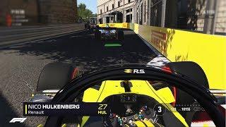 LAST TO ? CHALLENGE 🔝 - F1 2018 Nico Hülkenberg Aserbaidschan GP Challenge [Deutsch/German]