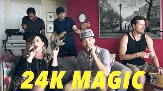 """24K Magic"" Live - Bruno Mars // Stacey Kay Cover"