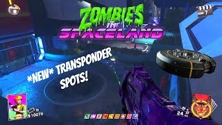 *NEW* TRANSPONDER SPOTS! | INFINITE WARFARE ZOMBIES GLITCHING