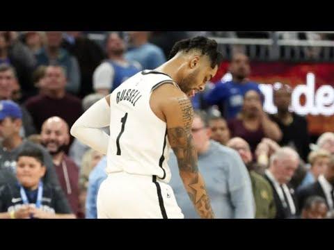D'Angelo Russell 40 Points Dagger 3 vs Magic! 2018-19 NBA Season