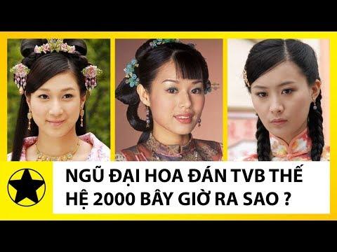 Ngũ Đại Hoa Đán TVB Thế Hệ 2000 Ngày Ấy, Bây Giờ Ra Sao?