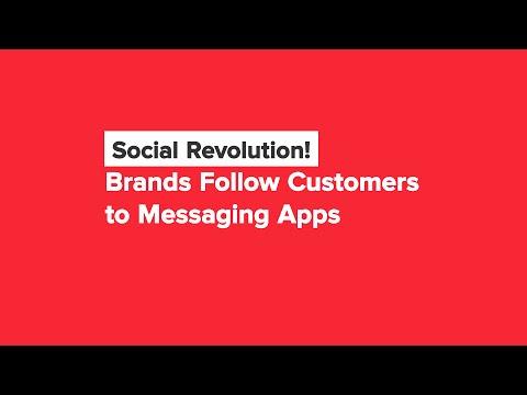 Brands Stop Ignoring Social Messaging Apps! Social Media Minute
