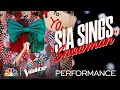 """Sia Is a Real Gift Performing """"Snowman"""" - The Voice 2020"""