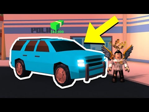 BUYING THE NEW SUV & 1 BILLION DOLLAR RIMS!! (Roblox Jailbreak)