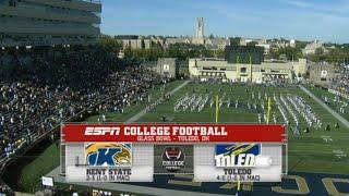 Kent State vs (24) Toledo Full Game 10/10/2015 NCAA Football 2015 Week 06