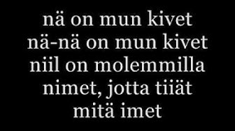 Trilogia - Nyytit ( lyrics )