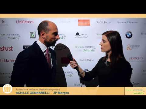 Achille Gennarelli - Financecommunity Awards 2015 by financecommunity.it