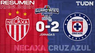Resumen y goles | Necaxa 0-2 Cruz Azul | Torneo Guard1anes 2021 BBVA MX J5 | TUDN