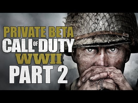 "Call Of Duty: WWII (Private Beta) - Let's Play - Part 2 - ""Team Deathmatch"""