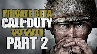 Call Of Duty: WWII (Private Beta) - Let