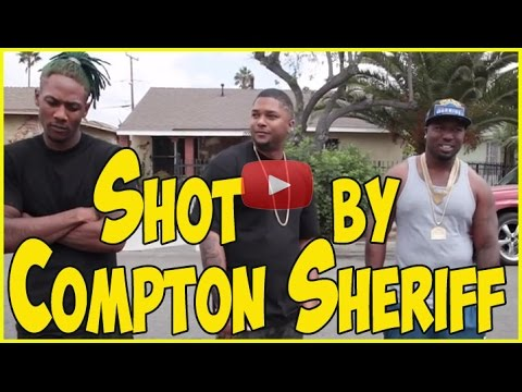Cousins from Raymond Street & Nutty Blocc Compton Crips talk getting shot by Compton Sheriff's