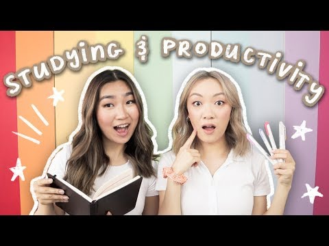 Studying & Productivity Tips for Back to School!